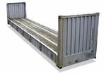 40-ка футовый Flatrack контейнер