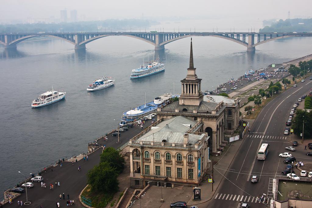 Грузоперевозки из Китая в Красноярск